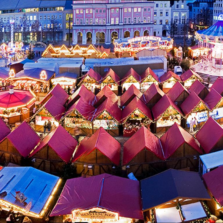 Weihnachtsmarkt L.Christmas Fair Rostock Rostocker Weihnachtsmarkt
